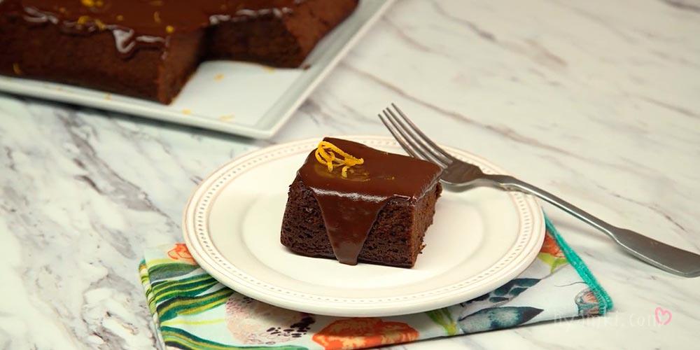 Шоколадно-апельчиновый торт