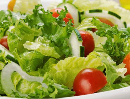 Формула идеального зеленого салата