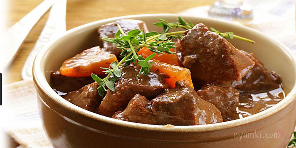 рецепты с тушеным мясом