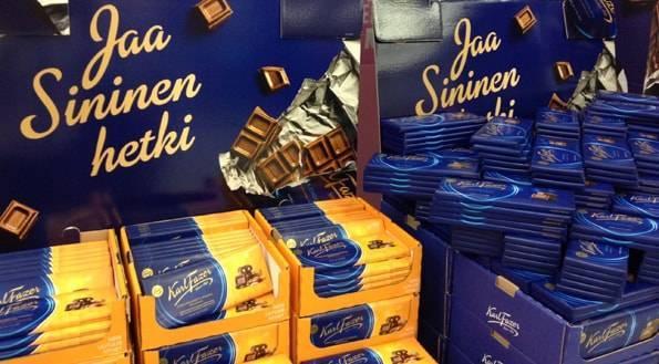 финский молочный шоколад