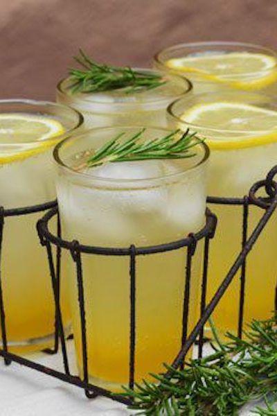 Розмариновый цитрусовый напиток